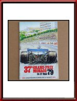 1979 Monaco Grand Prix Official Program