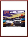 Vintage Original 1980 24 Hours of Le Mans Poster